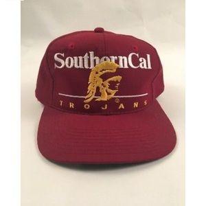 e33797e5b7391 ... VINTAGE USC TROJANS SOUTHERN CAL SNAPBACK HAT 1990 ...